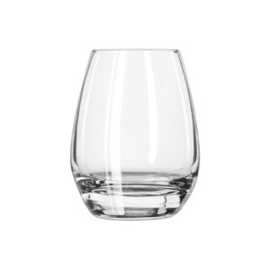 The stemless L'Espirit cognac glass by Libbey.