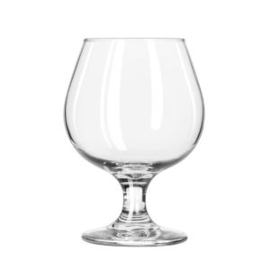 The Embassy snifter glass by Libbey.
