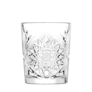The Hobstar whiskey glass by Libbey.