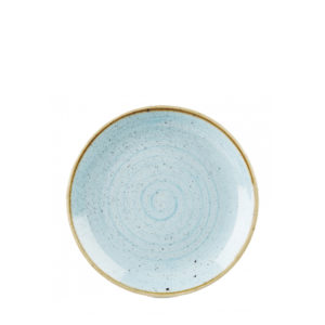 Churchill's Stonecast side plate in duck egg blue.