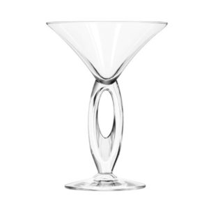 The Omega martini glass by Libbey.