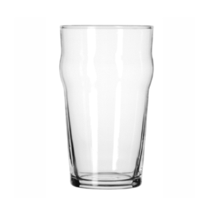 The Nonic beer glass.