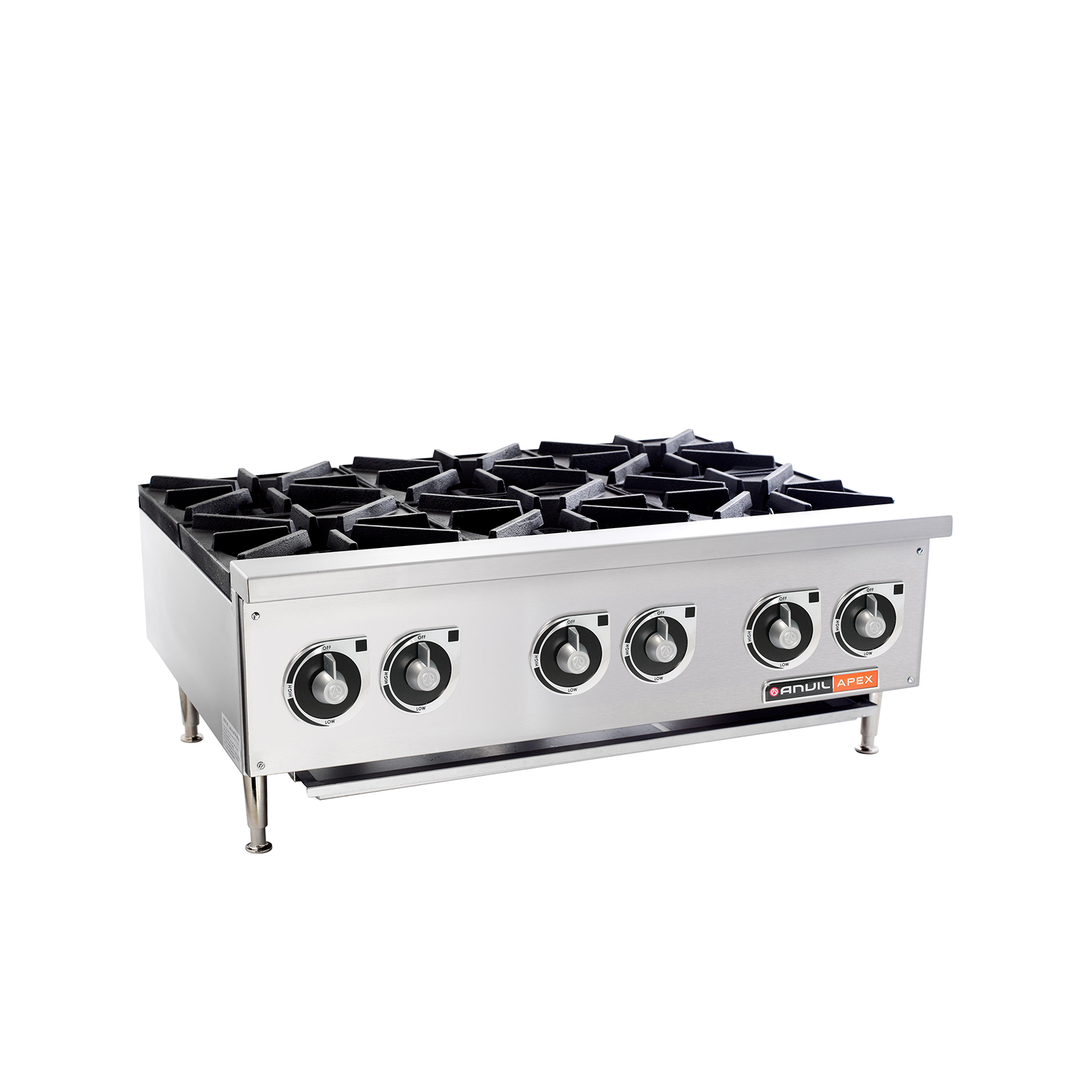 6 Burner Gas Stove By Anvil Core Catering