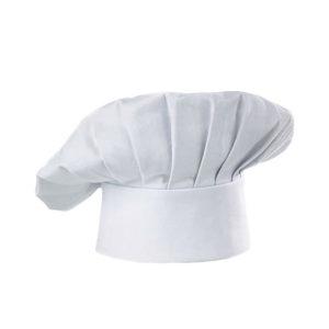 White mushroom chef hat.