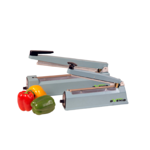Avenia's heat sealing machine.
