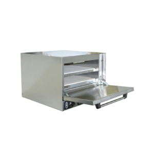 Anvil's stainless steel pizza oven.