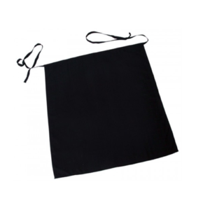 A mini black waiter apron.