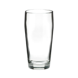 The willy beer glass.