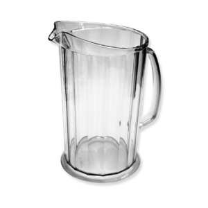 A glass mega jug.