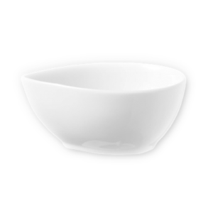 A Prima egg-shaped sauce dish by Fortis.