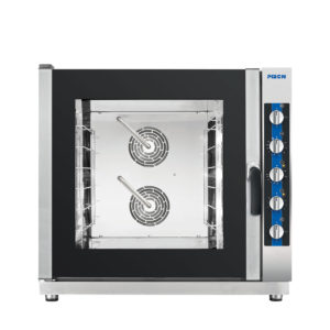 The Magellano plus 6 pan manual combination steam oven by Piron.