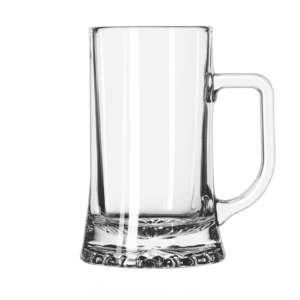The Crisal beer mug by Libbey.