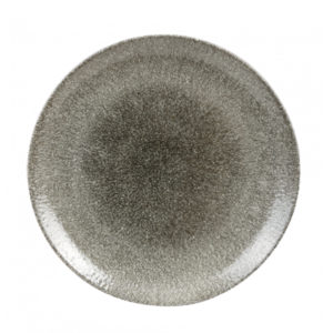 Churchill's coupe plate 260mm in grey.