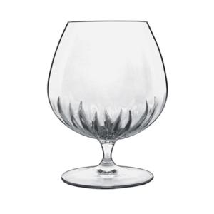 The Mixology crystal cognac glass by Luigi Bormioli.