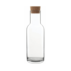 The Sublime carafe with cork by Luigi Bormioli.