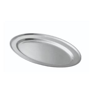 An oval tray.