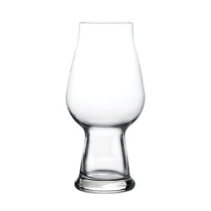 The Birrateque IPA glass by Luigi Bormioli.