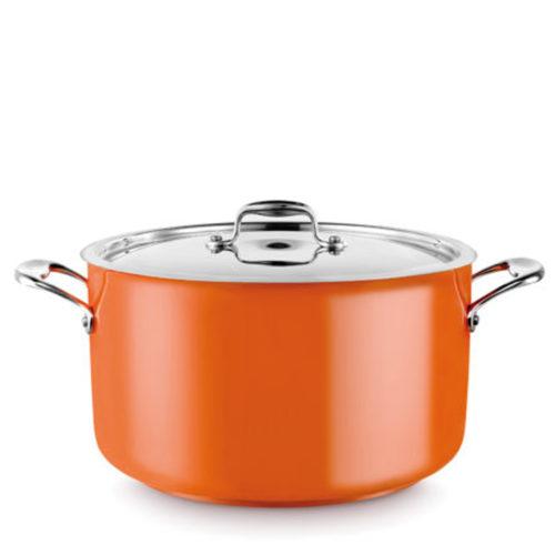 A casserole pot 14L in orange.