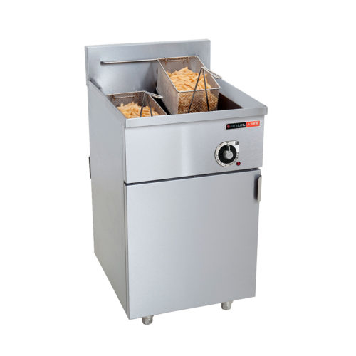 Standing double Anvil Fish Fryer 20 Litre 16.5/12kW