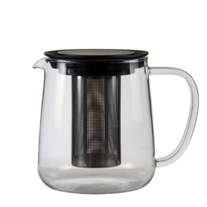 The glass Redbud teapot by Regent.