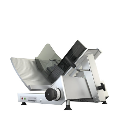 The GSP H manual gravity feed slicer by Bizerba.