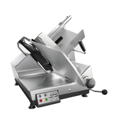 The GSP HD automatic gravity slicer by Bizerba.