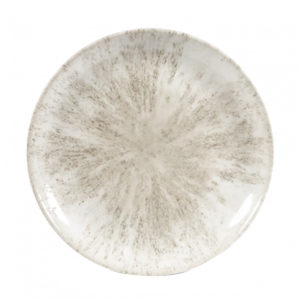 The stone agate grey coupe plate 282mm by Churchill.