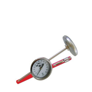 A deep frying thermometer.