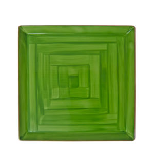 A green MPS square plate.