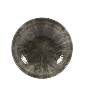 The Stone quartz black coupe plate 217mm by Churchill.