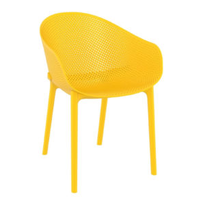 A yellow sky chair.