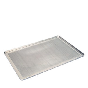 A perforated baking tray by Piron.