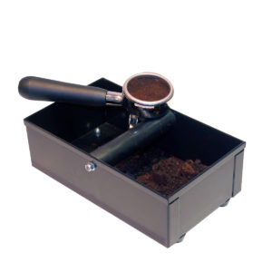 An Espresso machine knockbox.