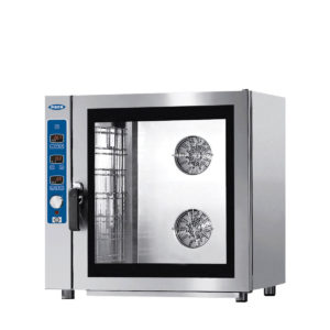 The Magellano gas line 7 pan digital combination steam oven by Piron.