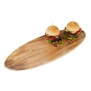 An oak wood effect tray by APS.