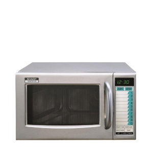 The semi commercial microwave by Sharp