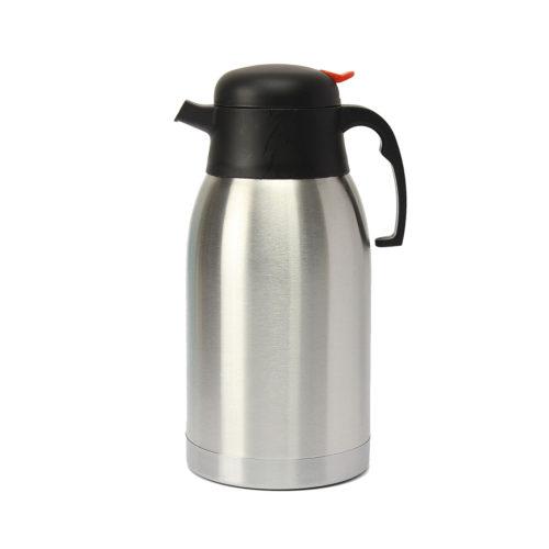 A straight vacuum flask.