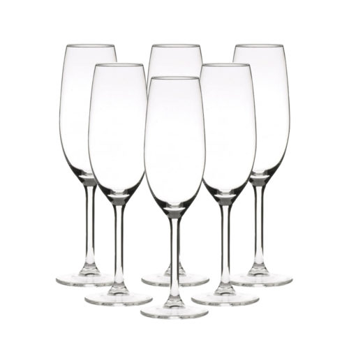 The L'espirit champagne glass 6 pack by Libbey.