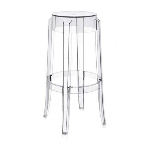 A ghost bar stool.